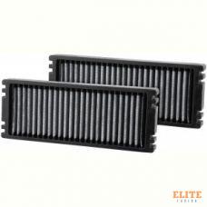 Воздушный фильтр салонный многоразовый K&N VF1001 комплект 2 шт.