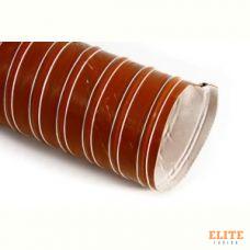 Воздуховод силиконовый, диаметр 76mm, до +290°С, цена за 1м, Thermal Division TDAD176