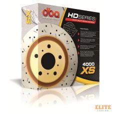 Тормозной диск DBA 42245XS   AUDI Q7,PORSCHE CAYENNE задний