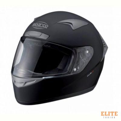 Шлем закрытый SPARCO Club X-1 черный, размер XL, 003319N4XL