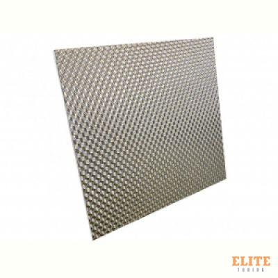 Термоизоляция кузова (нерж. сталь+композитное стекловолокно) 60сm*53сm, самоклеющаяся DEI 050551