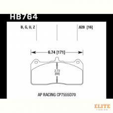 Колодки тормозные HB764N.628