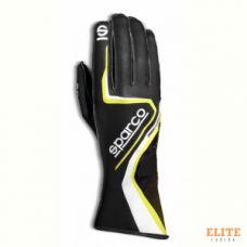 Перчатки для картинга SPARCO RECORD, черный/желтый, размер 10, 00255510NRGF