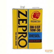 Масло моторное IDEMITSU ZEPRO DIESEL DH-1 10W30 CF 4L