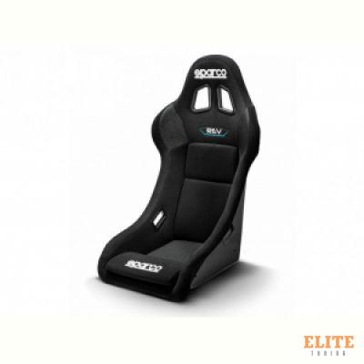 Спортивное сиденье REV QRT SPARCO, черное, FIA, 008014RNR