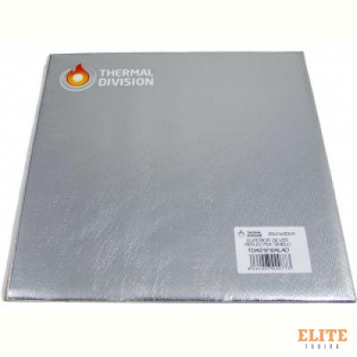 Термоизоляция Al+Silica, 30*30cm, самоклеющаяся Thermal Division TDAS1212ALAD