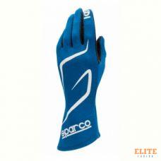 Перчатки для автоспорта SPARCO Land RG-3.1, FIA, синий, размер 10, 00130810AZ