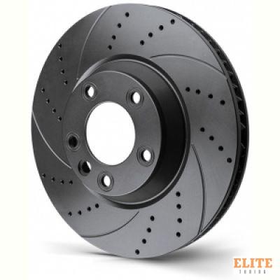 Диск тормозной Rotinger перфорация + насечки 21533-GL/T5 RANGE ROVER SPORT 365x25mm задний