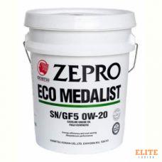 Масло моторное IDEMITSU ZEPRO ECOMEDALIST 0W-20 SN/GF-5 20L