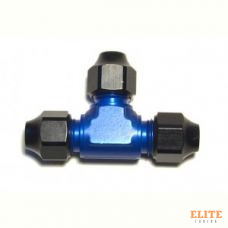 Фитинг AN-06, тройник, трубка-трубка-трубка, Hardline, алюминий, Goodridge HL814-06D