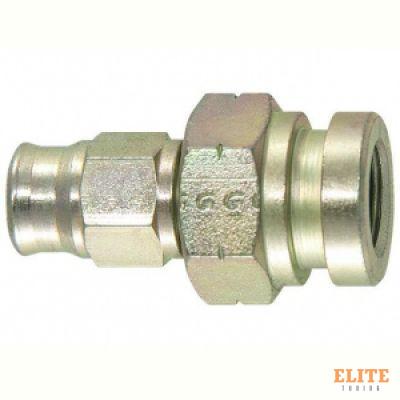 Фитинг мама M10*1 под обратный конус, под ключ 17mm D-03 сталь 759-03-31SP, Goodridge