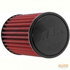 Воздушный фильтр нулевого сопротивления AEM 21-2019DK универсальный D=64mm L=235 мм