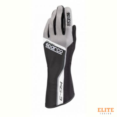 Перчатки для автоспорта SPARCO TRACK KG-3, черный, размер 10, 00255310NR