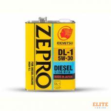Масло моторное IDEMITSU ZEPRO DIESEL DL-1 5W30 CF 4L