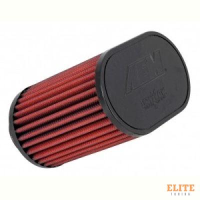 Воздушный фильтр нулевого сопротивления AEM 21-2201DK универсальный D=89mm L=140 мм