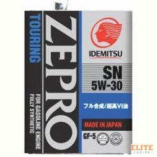 Масло моторное IDEMITSU ZEPRO TOURING 5W30 SN/GF-5 4L