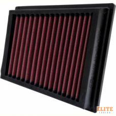 Воздушный фильтр нулевого сопротивления K&N 33-2883 FORD FIESTA/FUSION; 1.6L, TDCI, 11/04