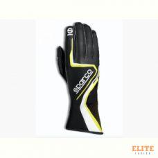 Перчатки для картинга SPARCO RECORD, черный/желтый, размер 09, 00255509NRGF
