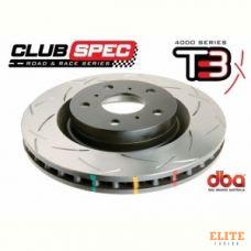 Тормозной диск DBA STREET SERIES T3 42714S TOYOTA HILUX 2.5L 05-, FORTUNER, 4RUNNER 05-ПЕР.
