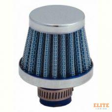 Фильтр нулевого сопротивления универсальный Spectre 3996 BREATHER FILTER 10MM BLUE