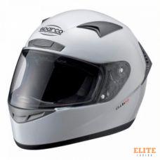 Шлем закрытый SPARCO Club X-1 белый, размер XXL, 0033195XXL