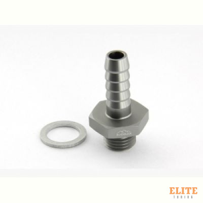 Адаптер П M14 x 1,5 mm - шланг PUSH FIT AN06 (9,5 mm, P406), BLACKROCK LAB, P06-M1415Ti