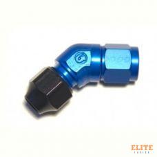 Фитинг AN-06, 45°, Hardline, алюминий, Goodridge HL822-06D