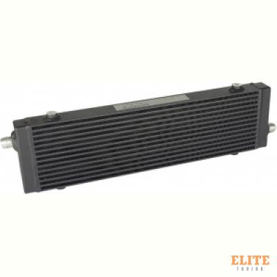 Радиатор масляный 14 рядов; 520 mm; Slimline 10-AN выходы С ДВУХ СТОРОН; BLACKROCK LAB, URS-552B