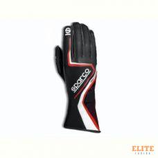 Перчатки для картинга SPARCO RECORD, черный/красный, размер 10, 00255510NRRS