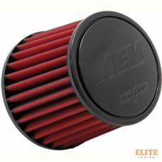 Воздушный фильтр нулевого сопротивления AEM 21-204DK универсальный D=89mm L=133 мм