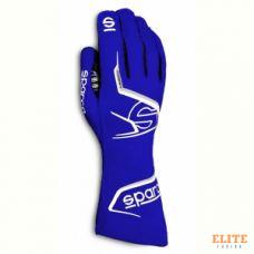 Перчатки для картинга SPARCO ARROW, синий/белый, размер 10, 00255710BMBI