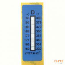 Термоиндикатор THERMAX-D самоклеющийся 1 шт. 160°С - 199°С
