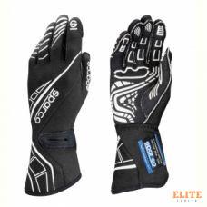 Перчатки для автоспорта SPARCO Lap RG-5, FIA, черный, размер 10, S00131110NR