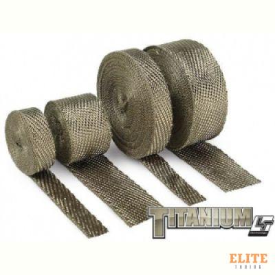 Термолента 50mm*4,5m Titanium, до 1000°С DEI 10129