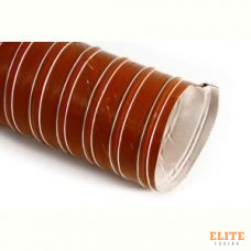 Воздуховод силиконовый, диаметр 51mm, до +290°С, цена за 1м, Thermal Division TDAD151