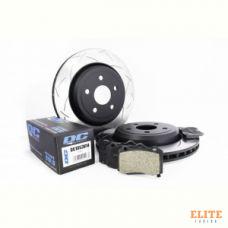 КОМПЛЕКТ ЗАДНИЙ Тормозные диски DBA 42633S T3+колодки DC brakes STR.S JEEP GRAND CHEROKEE SRT8 09->