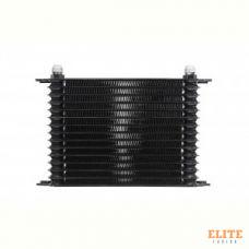 Радиатор масляный 15 рядов; 340 mm ширина; HT (10-AN выход) BLACKROCK LAB, URH-315