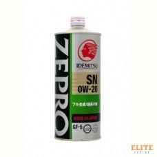 Масло моторное IDEMITSU ZEPRO ECOMEDALIST 0W-20 SN/GF-5 1L