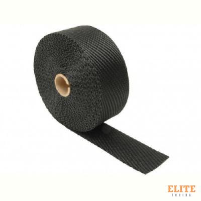Термолента 50mm*7,5m Black Titanium, до 1000°С DEI 10004 (черная)