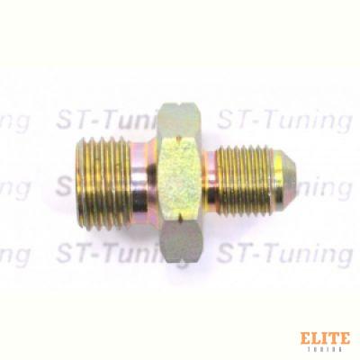 Адаптер П M10 x 1 mm - П 1/4 BSP, сталь, Goodridge
