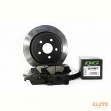 КОМПЛЕКТ ЗАДНИЙ Тормозные диски DBA 42637S T3+колодки DC brakes STR.S JEEP GRAND CHEROKEE 3.6 11->