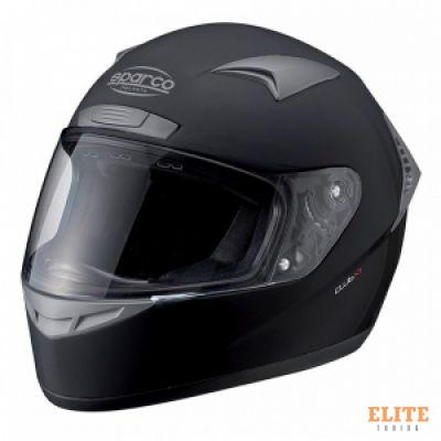 Шлем закрытый SPARCO Club X-1 черный, размер XXL, 0033195NXXL