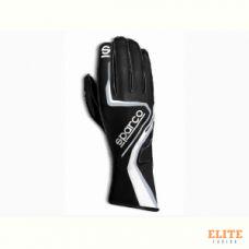 Перчатки для картинга SPARCO RECORD, черный/белый, размер 10, 00255510NRBI