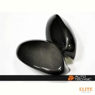 Накладки на зеркала BMW 3 E92 / E93, Carbon, карбон Autotecknic BM-0150