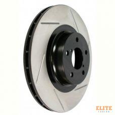 Диск тормозной StopTech слотированный (с насечками) 126.34101SR передний правый 294 мм. MINICooperS