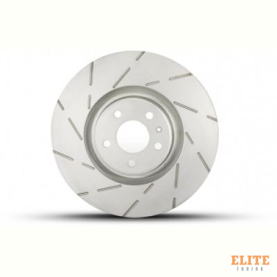 Тормозной диск TEXTAR 92238205 PRO+ HC Slotted 356 x 34 mm передний Audi A6, A7, A8