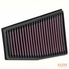 Воздушный фильтр нулевого сопротивления K&N 33-3032  AUDI RS5; RS4 2010-2015 4.2L V8, ПРАВЫЙ