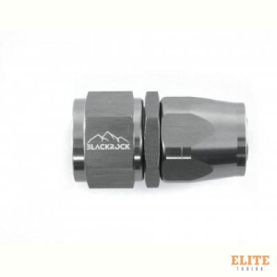 - 12 AN (12AN AN12) фитинг прямой 20 серия Cutter Style, BLACKROCK LAB A12-001-2Ti