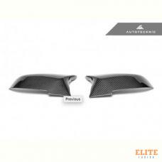 Накладки на зеркала BMW F30, F32, F20, F22, F23, F33, F36 M-Style карбон Autotecknic BM-0153