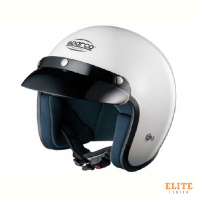 Шлем открытый SPARCO Club J-1 белый, размер S, 0033171S